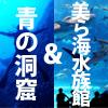 美ら海水族館&青の洞窟ボートシュノーケリング