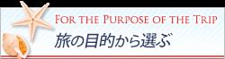 沖縄ツアーを目的から選ぶ