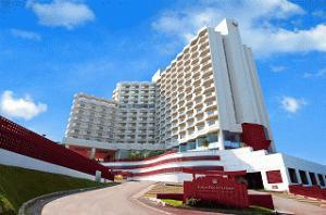 《東京第一ホテル オキナワグランメールリゾート》<br />沖縄市の高台に建つリゾートホテル!那覇市や北部へも<br />アクセス便利♪館内のプールは無料で利用OK♪